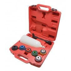 Funnel for oil filling of vehicle engine with plastic adaрters, 8pcs, in a case