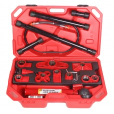 Hydraulic body frame repair kit 10T (pump, jack +extension set), 28pcs