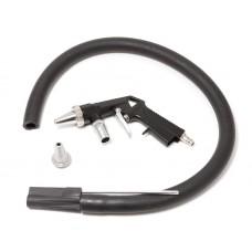 Gun for sandblasting machine air (nozzle: 4.5, 5mm, hose with sand feeler - 1m, air consumption 160