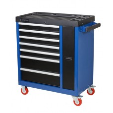 Service tool cabinet with tools 7 drawers with sliding perforated section (970х800х460mm, drawers 51