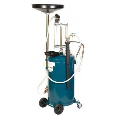Vacuum waste oil extraction and drain machine with filling indicator (tank -90L, prechamber-10L, fun
