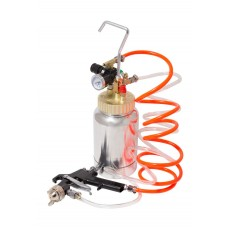 Painting tank with high pressure spray gun (capacity 2L, nozzle 2.0, 0-10bar)