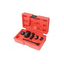 Rear underframe silent block replacement tool set 6pcs Ford Mondeo, in a case