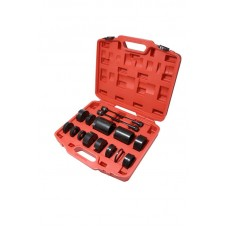 Silent block replacement tool set 17pcs BENZ, BMW (W220, 211, 203 E31,32,34,38,39,53,60,65,66), in a