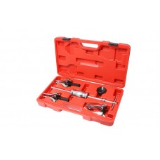 Set of bearing pullers with slide hammer ( bearing inner Ø:15-30mm,30-80mm, bearing outer Ø:15-80mm)