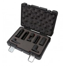 Oxygen sensor switch socket set 7pcs (22, 27, 29mm), in a case Premium