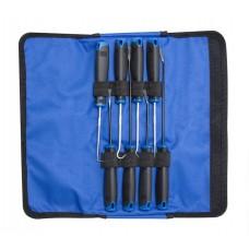 Scraper and pick-hook kit 8pcs, in a case