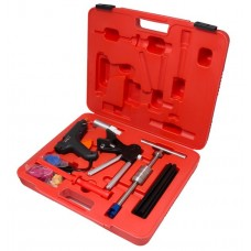 Paintless dents removal tool set with hot air gun 32pcs, in a case