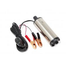 Fuel transfer pump (12V, 60W, 30l/min, Ø51mm, outlet Ø 19mm)
