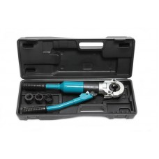 Hydraulic crimping tool 12T (Ø16, 20, 25, 32mm), in a case