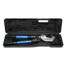 Hydraulic crimping tool for cables 12T (rod step -38mm, section 16-400mm2, adaрters-16,25,35,50,70,9