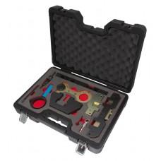 Engine timing locking set 11pcs, BMW (M42/44/50/52/54/56), in a case ''Premium''