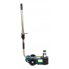 Airhydraulic floor jack 30T/15T double-rod with adjustable handle (pickup height - 150mm, lifting he