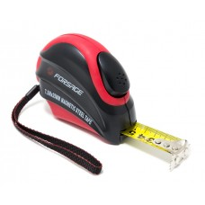 Tape measure 7.5mх25mm (magnetic hook, auto-lock, double-base housing), in blister