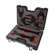 Fan clutch wrench set 1/2'', 10pcs (36, 39, 47, 54, 57, 60, 72, 76, 82mm), in a case ''Pemium''