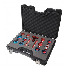 Crank seal remover and installer kit 20pcs, in a case ''Pemium''