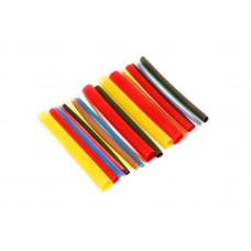 Set of glue heat shrink tubes ''Universal-Maximum''(Ø before/after shrinkage 1.6/0.8-6pcs, 2.4/1.2-2p