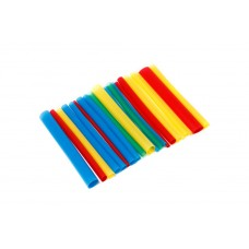 Set of glue heat shrink tubes ''Universal-Electro''(Ø before/after shrinkage 3.2/1.0-6pcs, 4.8/2.4-6p