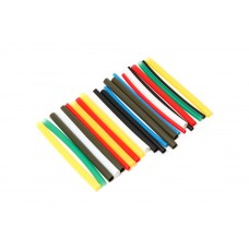 Set of glue heat shrink tubes ''Universal-Auto''(Ø before/after shrinkage 3.2/1.6-6pcs, 4.8/2.4-6pcs,