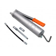 Air grease gun set 400ml, with flexible and rigid tip