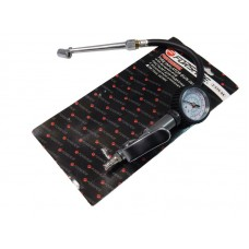 Gun for tire inflating with pressure gauge and nozzle for load wheels (0-15bar), in blister
