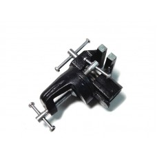 Table / bench swivel vice mini (clamping jaws width - 70mm, grip -35mm, adjusting clamp)