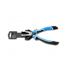 Combination pliers ''Profi''with a return spring 200mm, in plastic holder