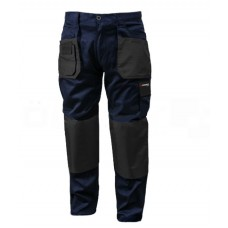 Work trousers with inserts, 8 pockets (LD/54, waist:88-96cm, height:182-188cm, polyester/cotton:65/3