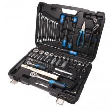 Tool set 72pcs 1/4'', 1/2'', 6 point, 4-32mm