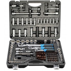 Tool set 150pcs 1/4'', 3/8'', 1/2''(6 point, 4 - 32mm)