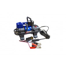 Piston air compressor with LED worklight F-001 ''FORSAGE''(35l/min, 14А) 12V
