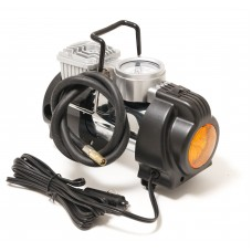 Piston air compressor with LED worklight F-2014125 ''FORSAGE''(35l/min, 15А) 12V''