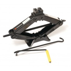 Scissor jack 2.0T with rubber pad (h min 120mm, h max 413mm)