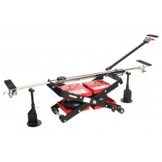 Air floor double jack with safety racks 2.5T (two pillows, pickup height - 138mm, lifting height - 5