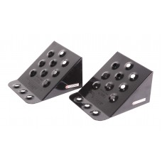 Wheel chock metal for trucks (length - 230mm, width - 200mm, height - 125mm), 2 pcs