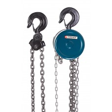 Chain block hoist with tension chain fixation 0.5T (chain length - 2.5m), in a case