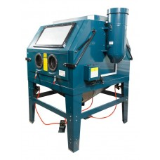 Sandblasting chamber with air purification (1200L, 220V, pressure 3.4-6.1)