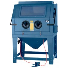 Sandblasting chamber with electric motor for air purification 220V (volume-990L,510l/min, pressure 3