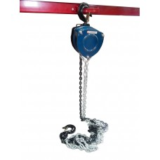 Chain block hoist with tension chain fixing gear 10T (chain length - 3m)