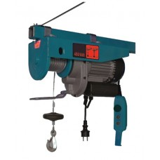 Electric wire rope hoist 350/700 kg (220V, 1450W, lifting height: 350kg - 12m, 700kg - 6m)