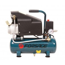 Piston air compressor with direct drive 9L (0,75 kW, receiver 9L, 8 bar, 220V)