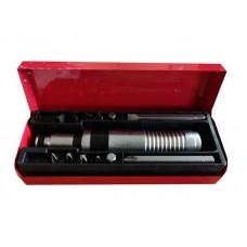 Отвертка ударная с набором бит и адаптером,13пр 1/2''(F)х5/16''(F) (PH 1,2,3,4х36мм, PH3х80мм, SL 5,6,7,8х36мм, SL8х80мм, H 7,8х36мм) в метал. кейсе