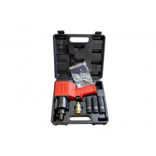 Impact wrench 1/2''(960Nm) with socket set (17, 19, 21mm)