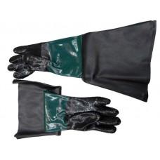 Защитные перчатки для пескоструйных аппаратов (2шт/к-т) длинные