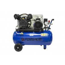 Double piston belt driven air compressor 50L