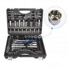 108+6 PC Super Lock Socket Ratchet Set