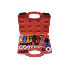 Fuel and air conditioning disconnection tool set 25pcs, in a case