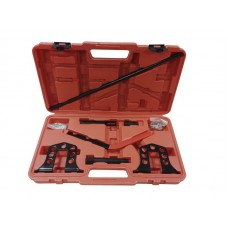 Overhead valve spring compressor tool set 9pcs, in a case