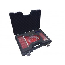 Flow meter and adaptor set for Common Rail diesels, in a case ''Premium''