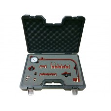 Diesel engine compression tester kit 19pcs (M18х1.5mm, M24х2.0mm, M24х1.5mm, M10х1.0х68mm, M10х1.25х